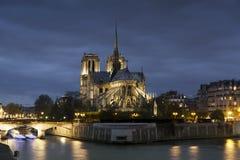 notre paris dame собора стоковая фотография