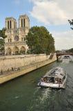 notre paris dame Франции собора Стоковая Фотография