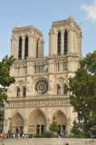 notre paris dame Франции собора Стоковое фото RF