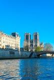 notre paris dame Франции собора Стоковые Изображения