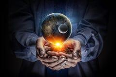 Notre planète a besoin de soin et d'amour Media mélangé Image libre de droits