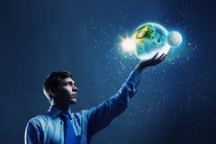 Notre planète de la terre Photo stock