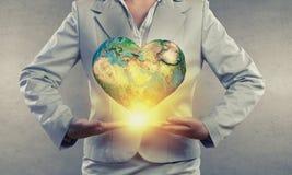Notre planète notre maison Images libres de droits