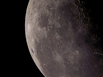 Notre satellite Photo stock
