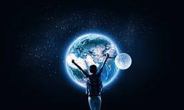 Notre univers Photo stock