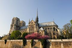 Notredame Cathedral, Paris Stock Photo