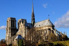 Notredame de Paris Royalty Free Stock Photos