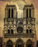 Notredame de Paris, France Stock Photos