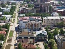 Notrh miasto Rosja obrazy royalty free