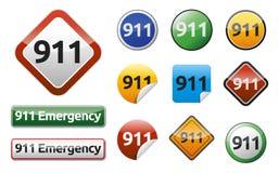 Notruf 911 Stockfotos