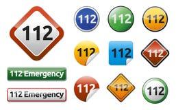 Notruf 911 Stockbilder