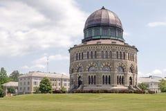 Nott Memorial Hall, Unie Universiteit stock foto