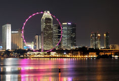 NOTTE 1 DI SINGAPORE Fotografia Stock Libera da Diritti