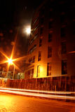 Notte arancione Immagini Stock Libere da Diritti
