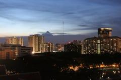 Notte a Bangkok, Tailandia fotografie stock