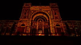 Notte bianca 2016 stock footage