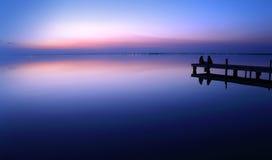 Notte blu Fotografia Stock Libera da Diritti
