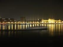 Notte a Budapest Immagine Stock Libera da Diritti