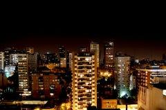 Notte a Buenos Aires Immagini Stock Libere da Diritti