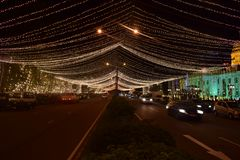 @ notte Colombo - nello Sri Lanka fotografia stock libera da diritti