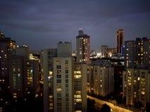 Notte Costantinopoli Fotografie Stock