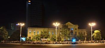 "Notte dei musei a Bucarest - il museo nazionale di storia naturale ""Grigore Antipa"" Immagine Stock Libera da Diritti"