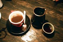 Notte del caffè Fotografia Stock Libera da Diritti