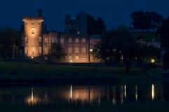 Notte del castello Immagini Stock