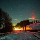 Notte del cielo Fotografia Stock