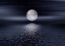 Notte della luna Fotografia Stock