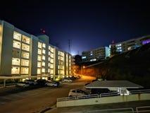 Notte della luna piena fotografia stock