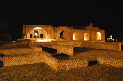 Notte della taurina di Terme Fotografia Stock