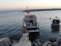 Notte della Turchia Costantinopoli immagini stock