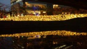 Notte di Akasaka immagini stock libere da diritti