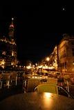 Notte di Aquisgrana Fotografia Stock