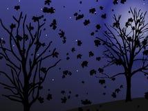 Notte di autunno Illustrazione di Stock