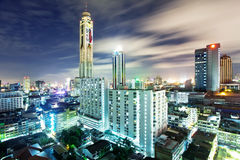 Notte di Bangkok Fotografia Stock Libera da Diritti