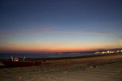Notte di Baywatch Fotografia Stock Libera da Diritti