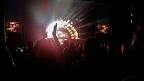 Notte di concerto Fotografie Stock