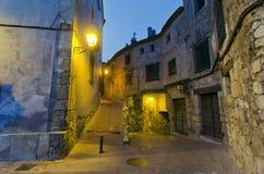 Notte di Cuenca Fotografia Stock Libera da Diritti
