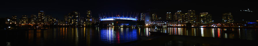 Notte di False Creek Fotografia Stock