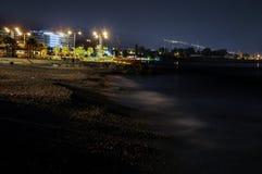 Notte di Flisvos Immagine Stock
