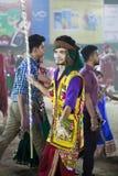 Notte di Garba su Navratri - l'India Fotografia Stock Libera da Diritti