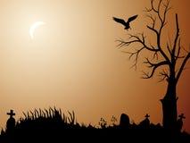 Notte di Halloween illustrazione di stock
