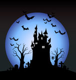 Notte di Halloween royalty illustrazione gratis