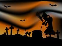 Notte di Halloween Fotografie Stock Libere da Diritti