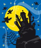 Notte di Halloween illustrazione vettoriale