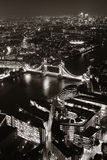 Notte di Londra fotografie stock