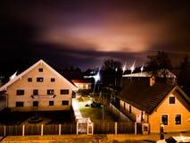 Notte di Monaco di Baviera Fotografie Stock Libere da Diritti