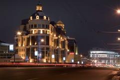 Notte di Mosca Immagini Stock Libere da Diritti